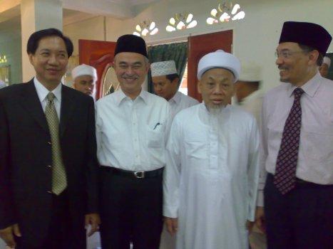 Dr Bhokin Bhalakula, Mantan TPM Thailand turut hadir