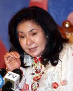 Rosmah desperate ingin menjadi First Lady ?