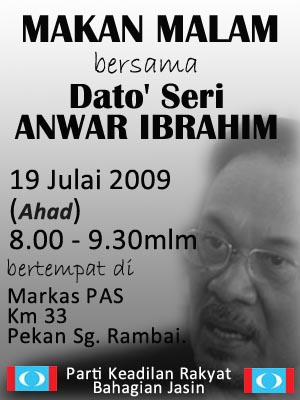 Program Dato' Seri Anwar di Melaka