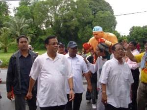 BN Pembongak : Gambar terbaru Azeez berkempen di PRK Bagan Pinang