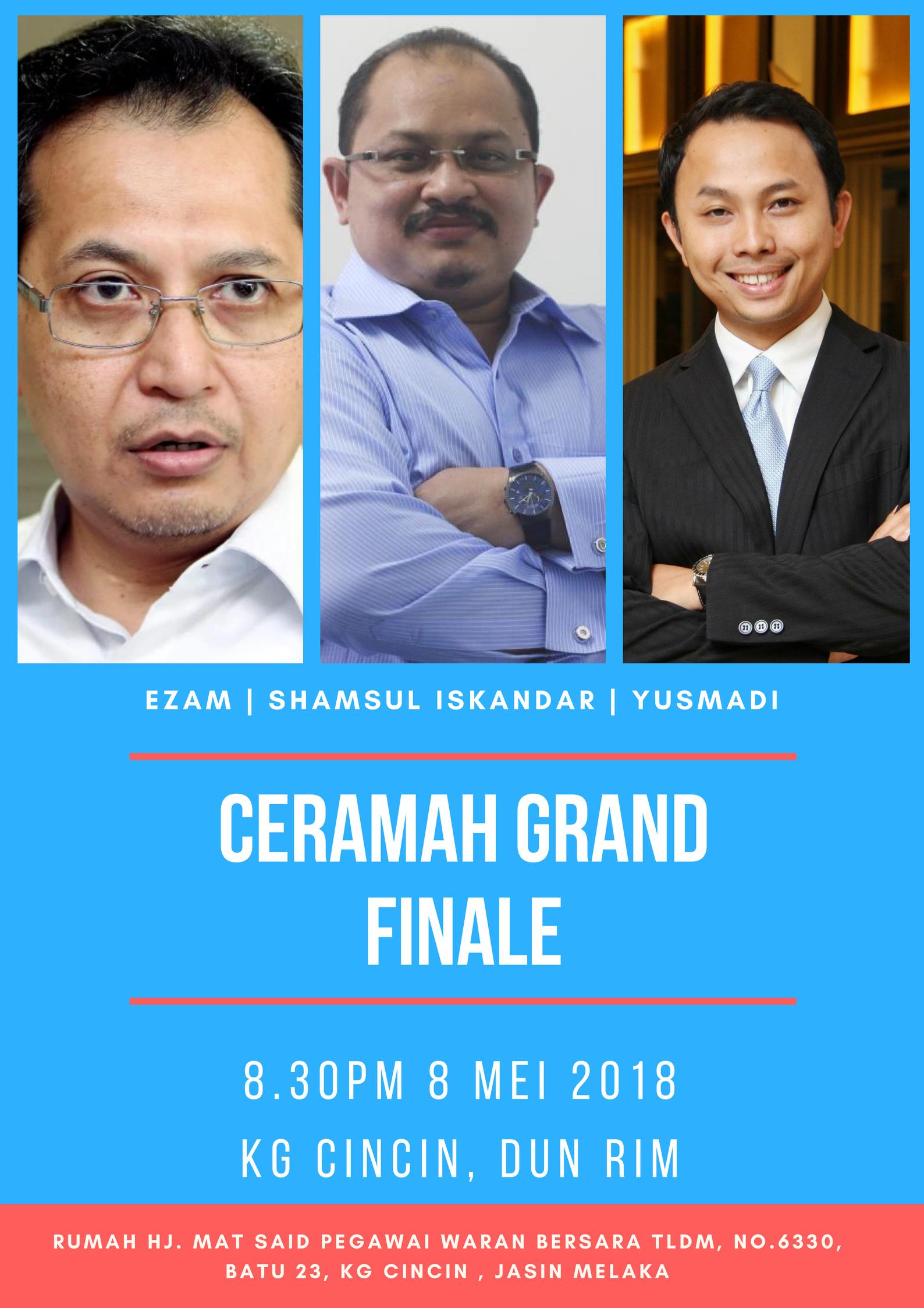 Ceramah Grand Finale (1)
